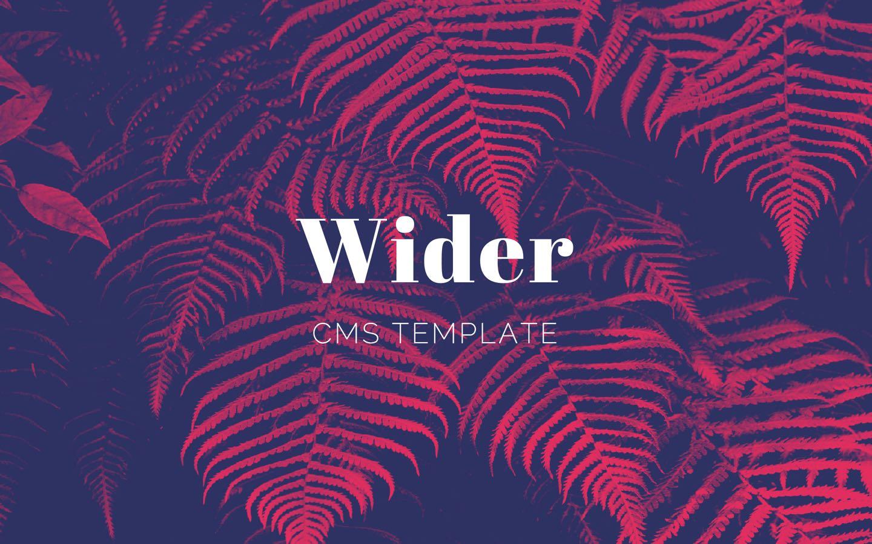 Wider CMS