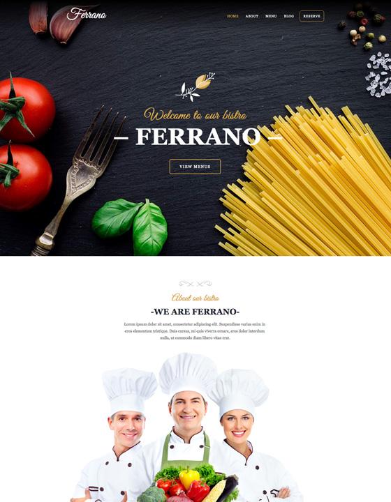 Ferrano CMS