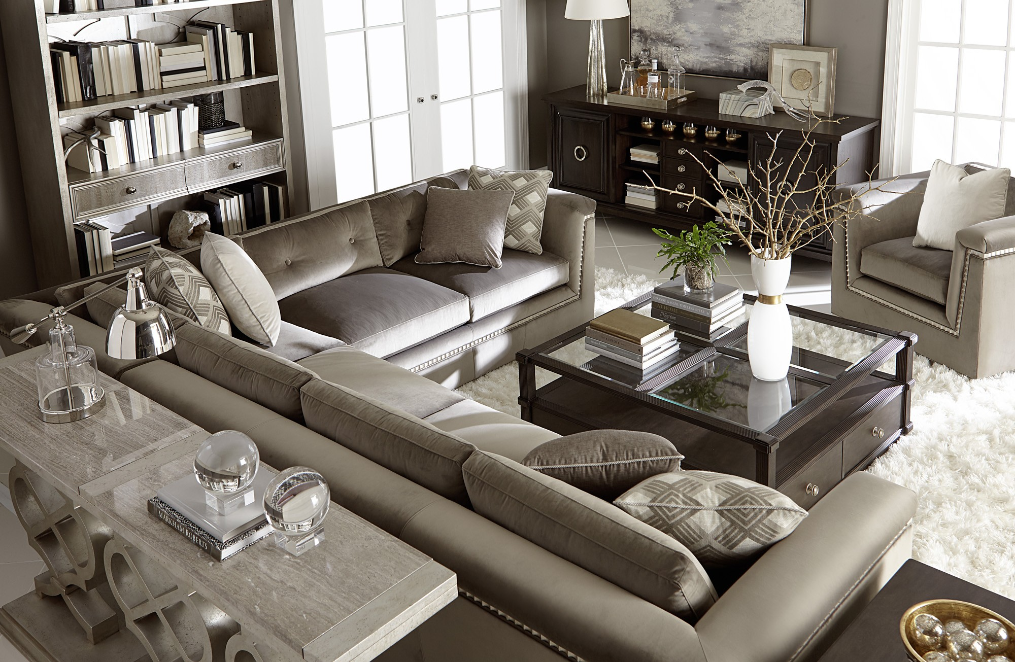 Morrissey Mani sectional Sofa Overview 2