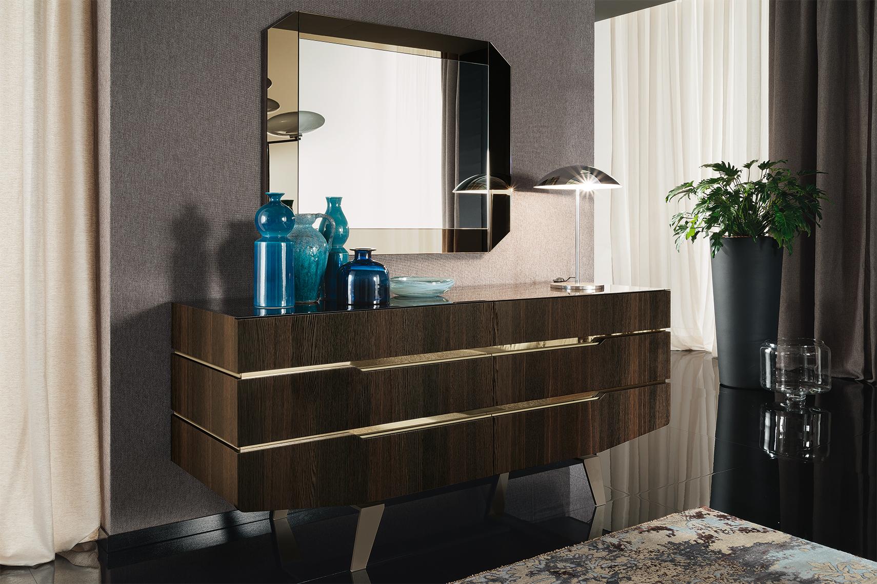 Accademia Bedroom Dresser & Mirror