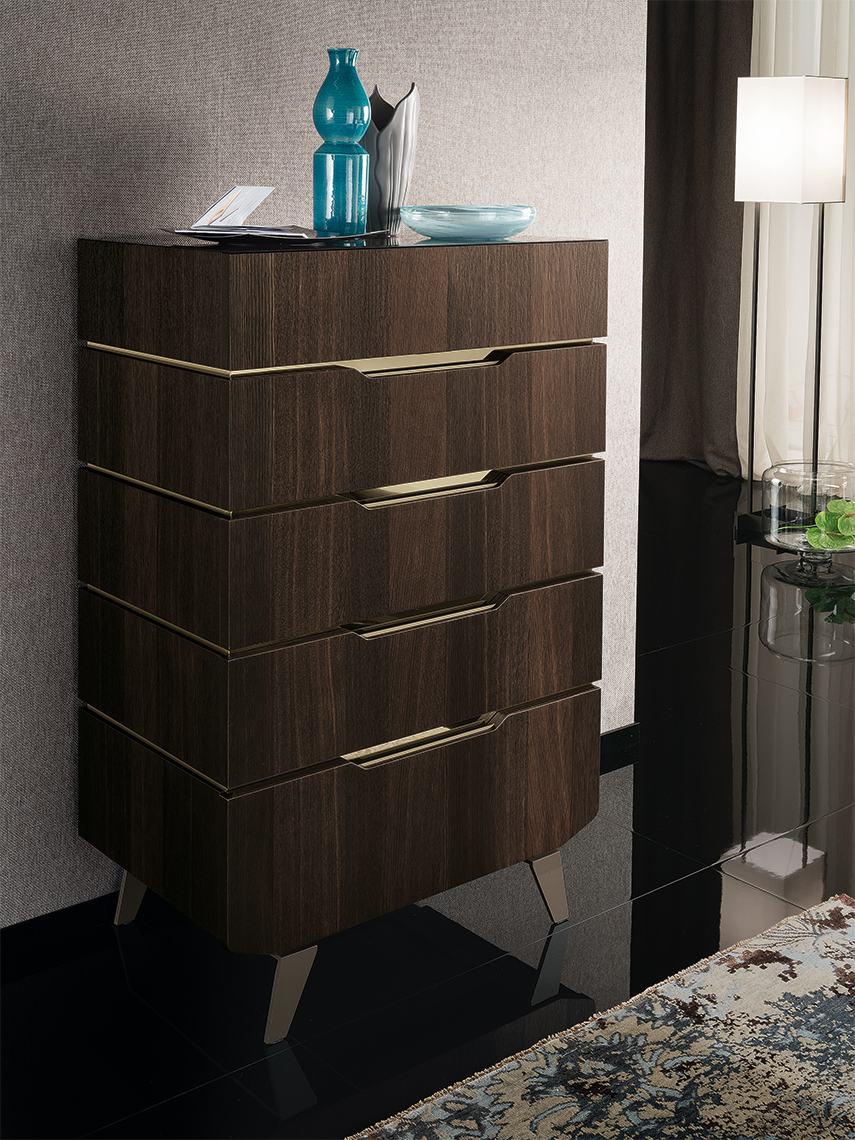 Accademia Bedroom 5 Drawer Chest