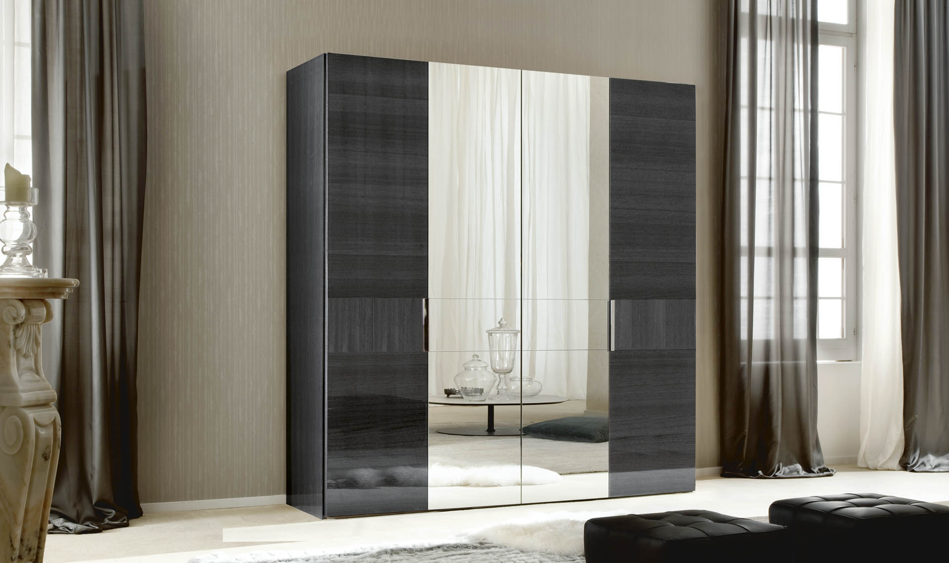 Montecarlo Bedroom 4/D Swinging Wardrobe