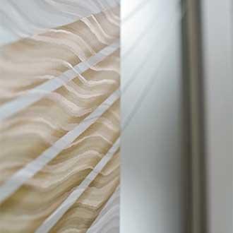 Mirò Bedroom wardrobe white pearl finish