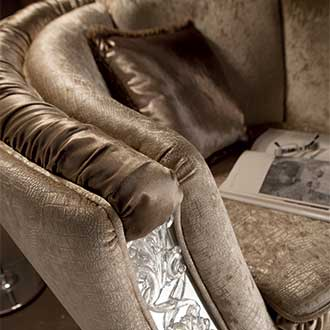 Mirò Living Room sofa arm