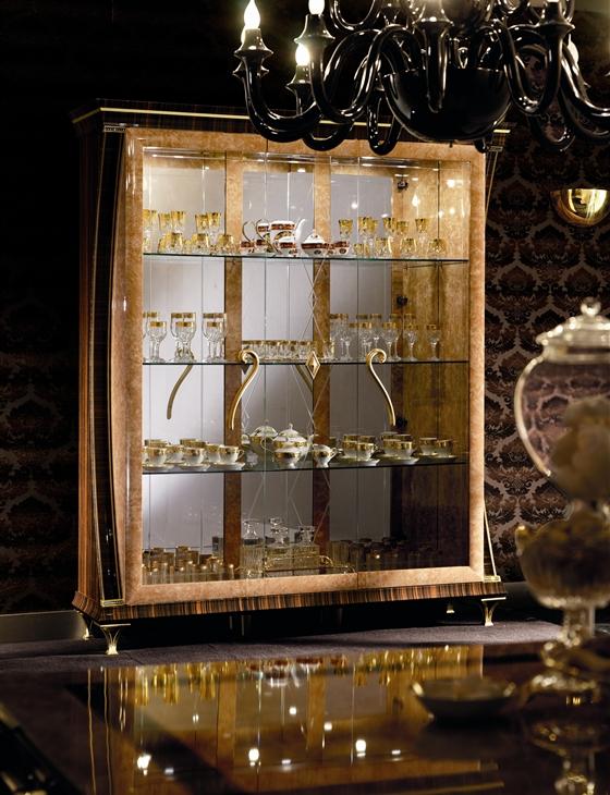 Rossini Dining room three door china cabinet
