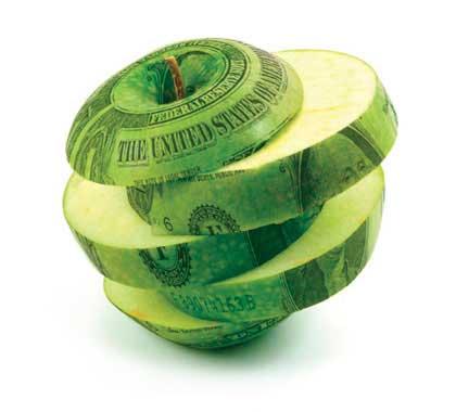 Apple edited with money