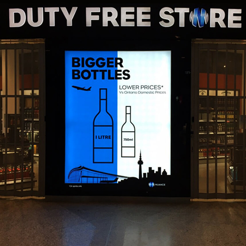 Photo of Duty Free Shop 101mm SEG LED Sign