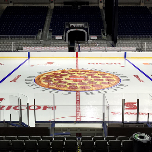 Photo of Pizza Pizza Skating Rink Mat