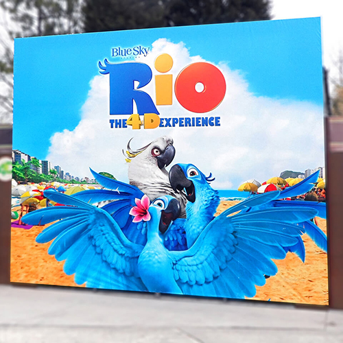Photo of imex Rio Movie Billboard