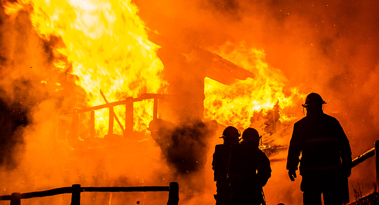 restauración de incendios