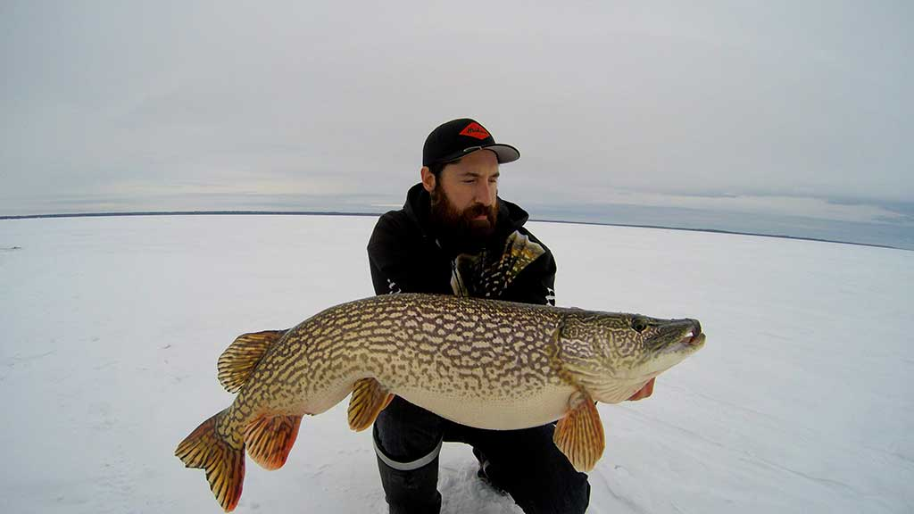 Ice Fishing Norther Pike