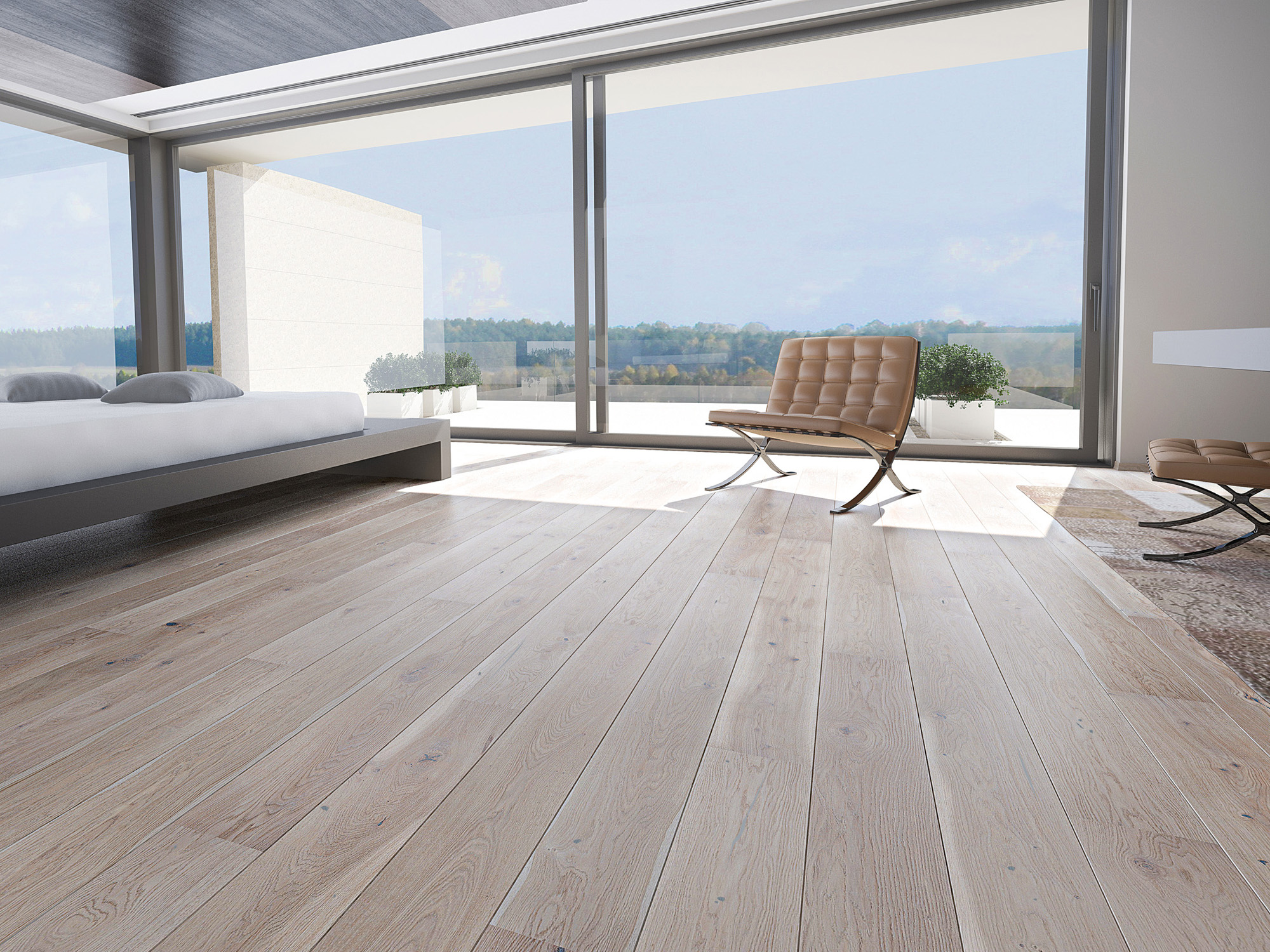 Engineered Wood Flooring Modern Grey Shades