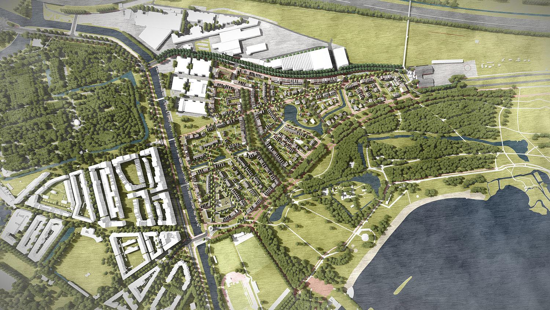 Nieuw kralingen een nieuwe wijk bij het kralingse bos for Direct wonen rotterdam