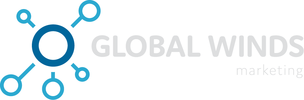 Logotipo Global Winds Marketing