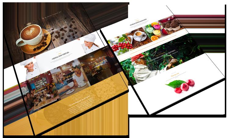 Website Responsivo Doña Juana Coffee Shop
