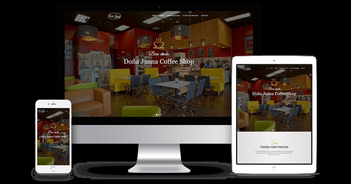 Site Doña Juana Coffee Shop