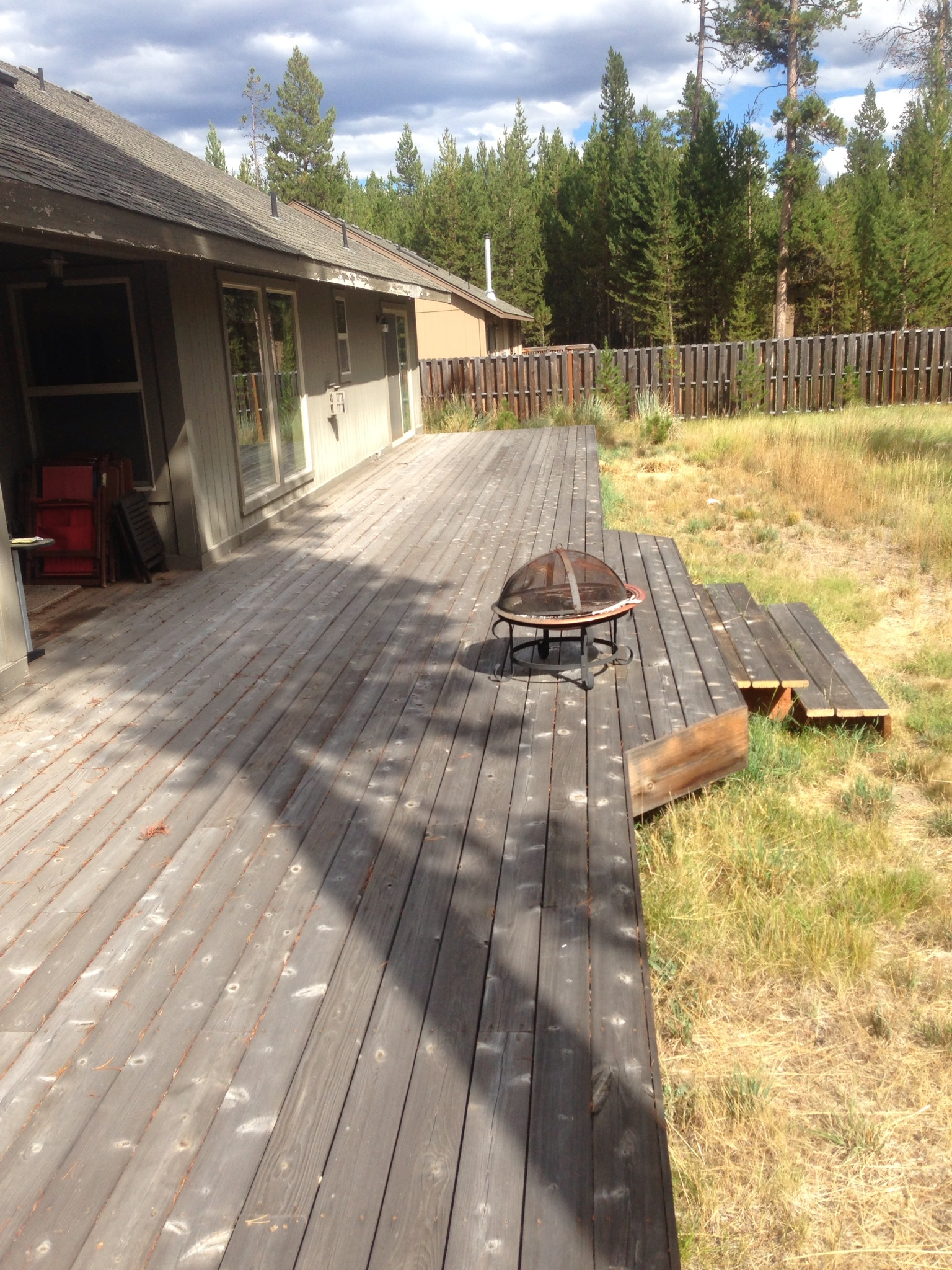 Sunriver Deck Refinish