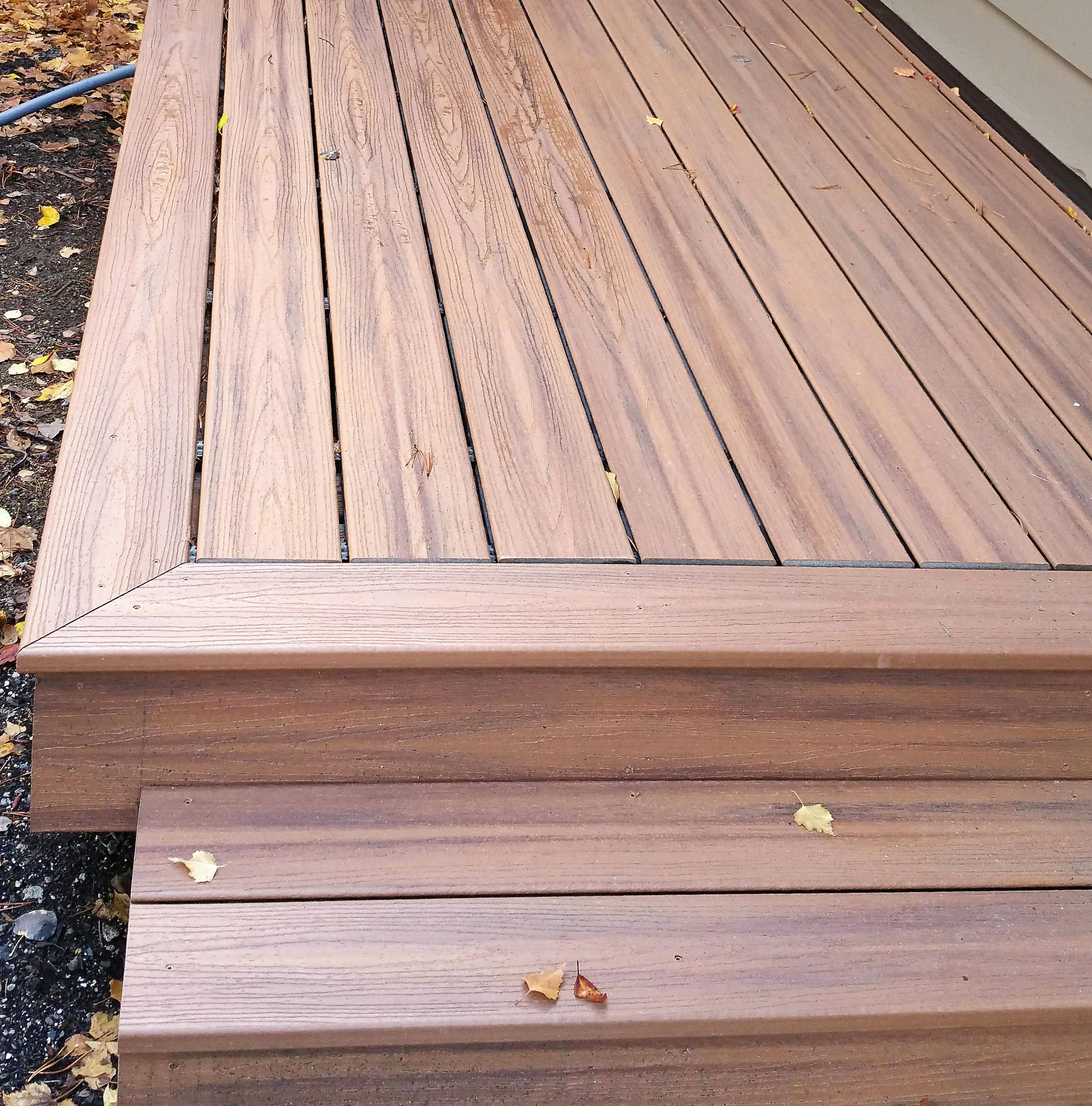 Which composite decking is the best bend interior for Compare composite decking brands