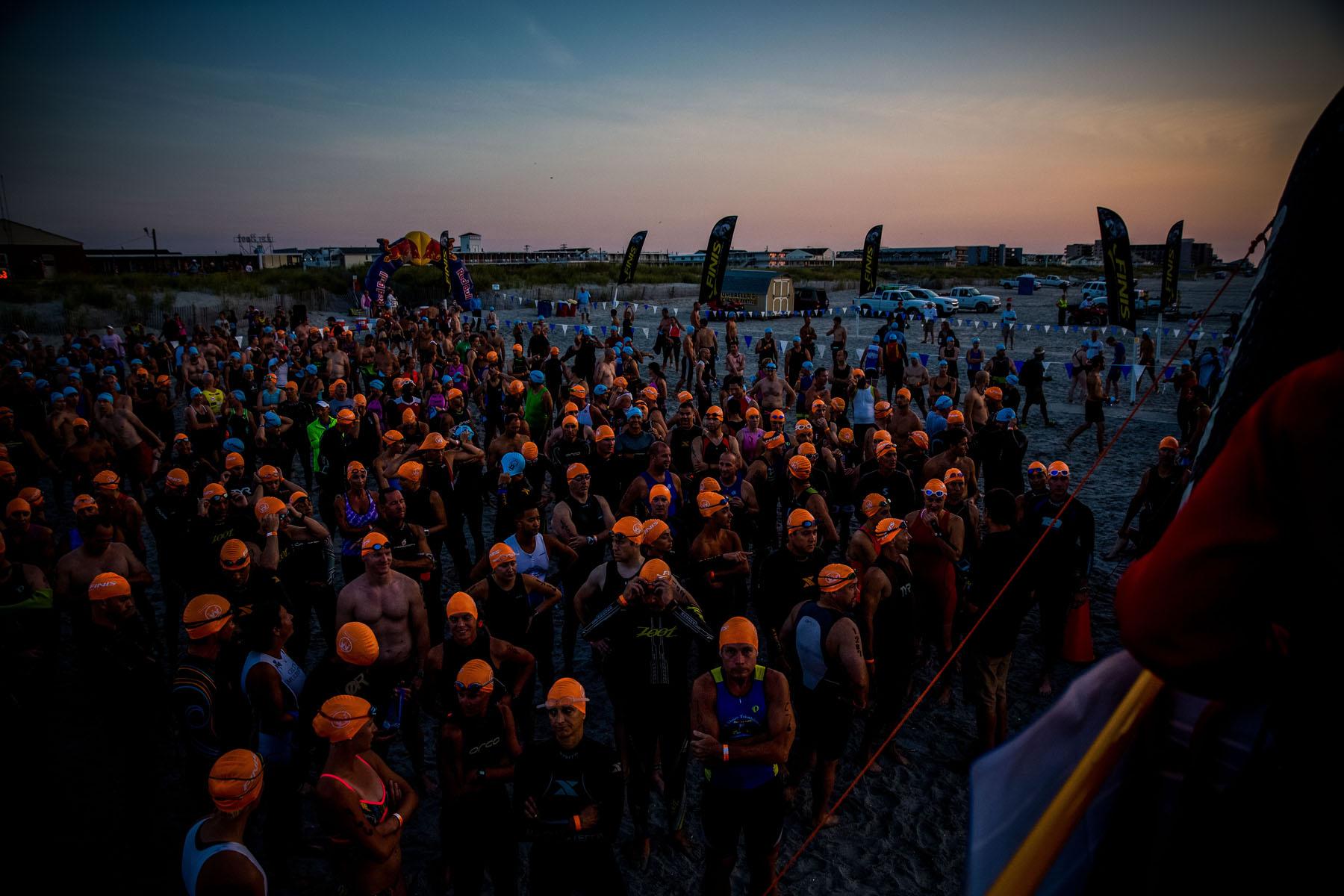 Tri The Wildwoods New Jersey Triathlon - Athletes await