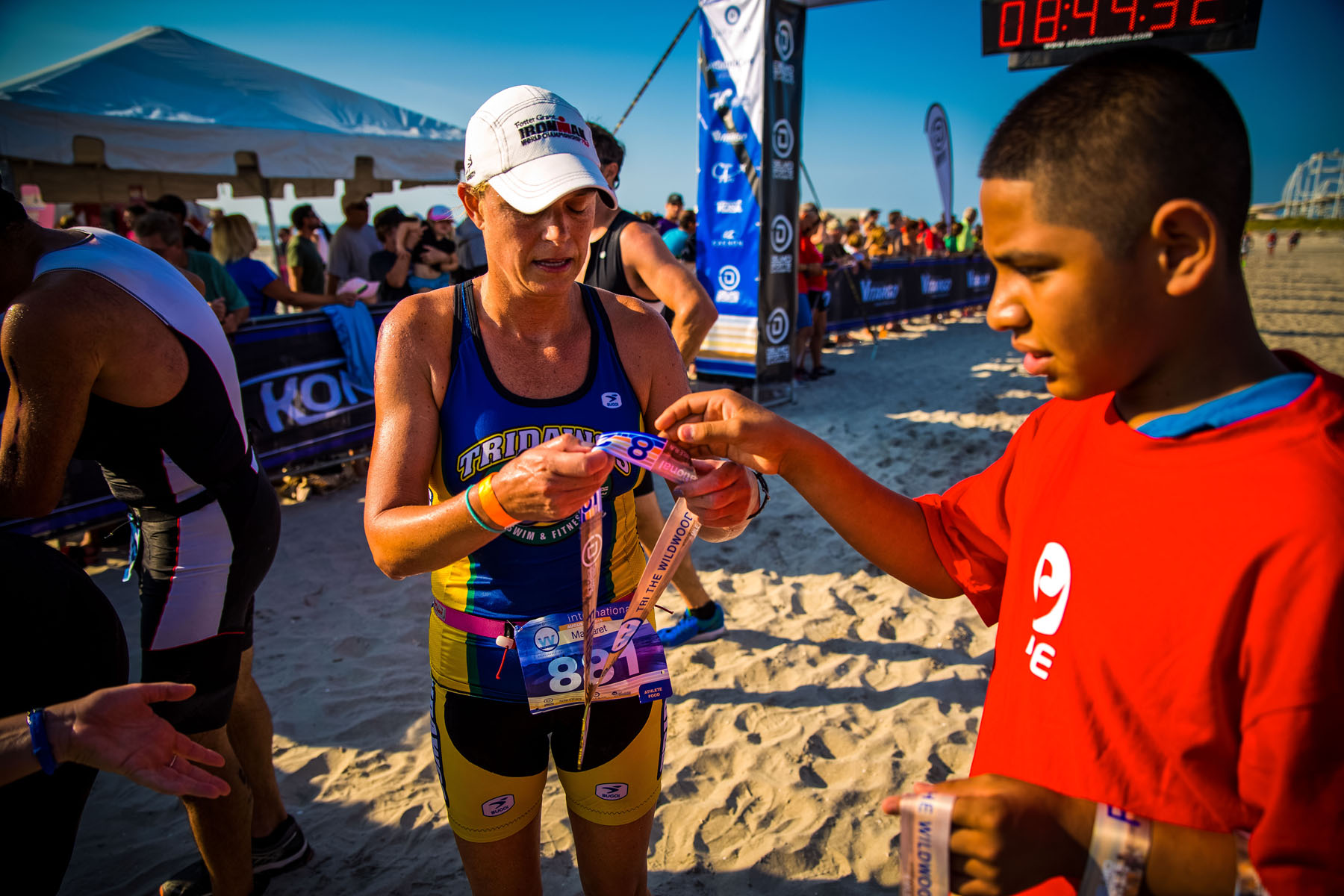 Tri The Wildwoods New Jersey Triathlon - Tridawgs finisher