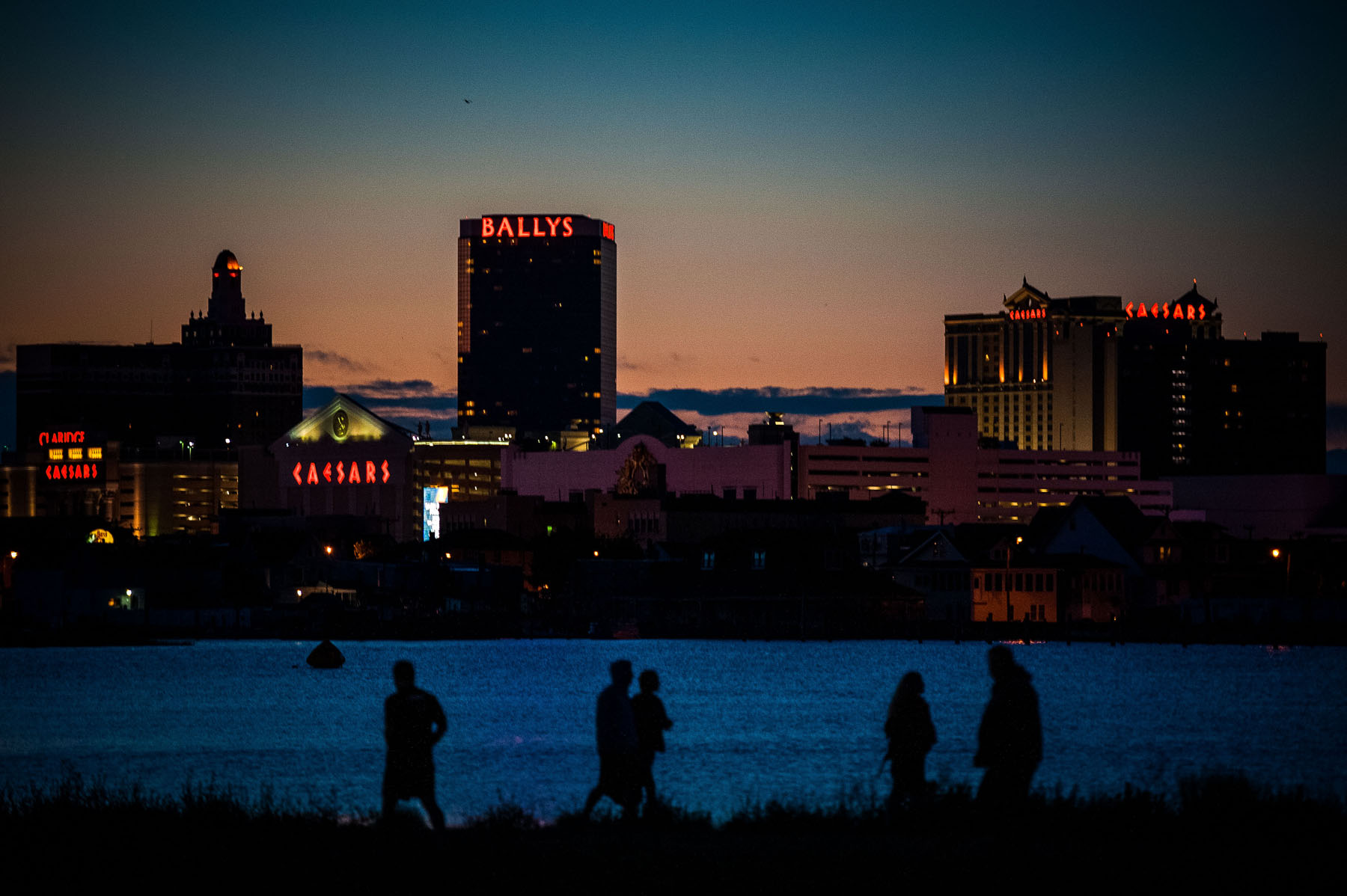 at night - Atlantic City Triathlon