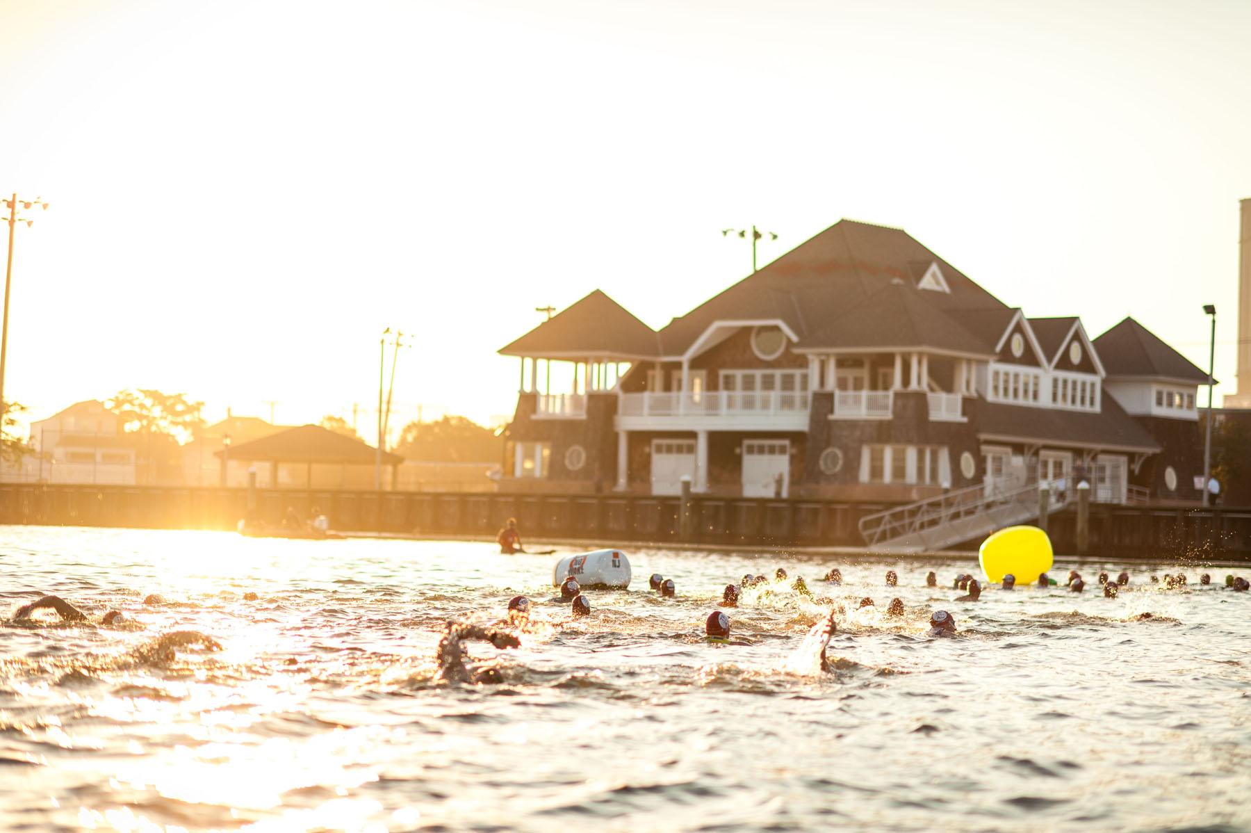 swim - Atlantic City Triathlon