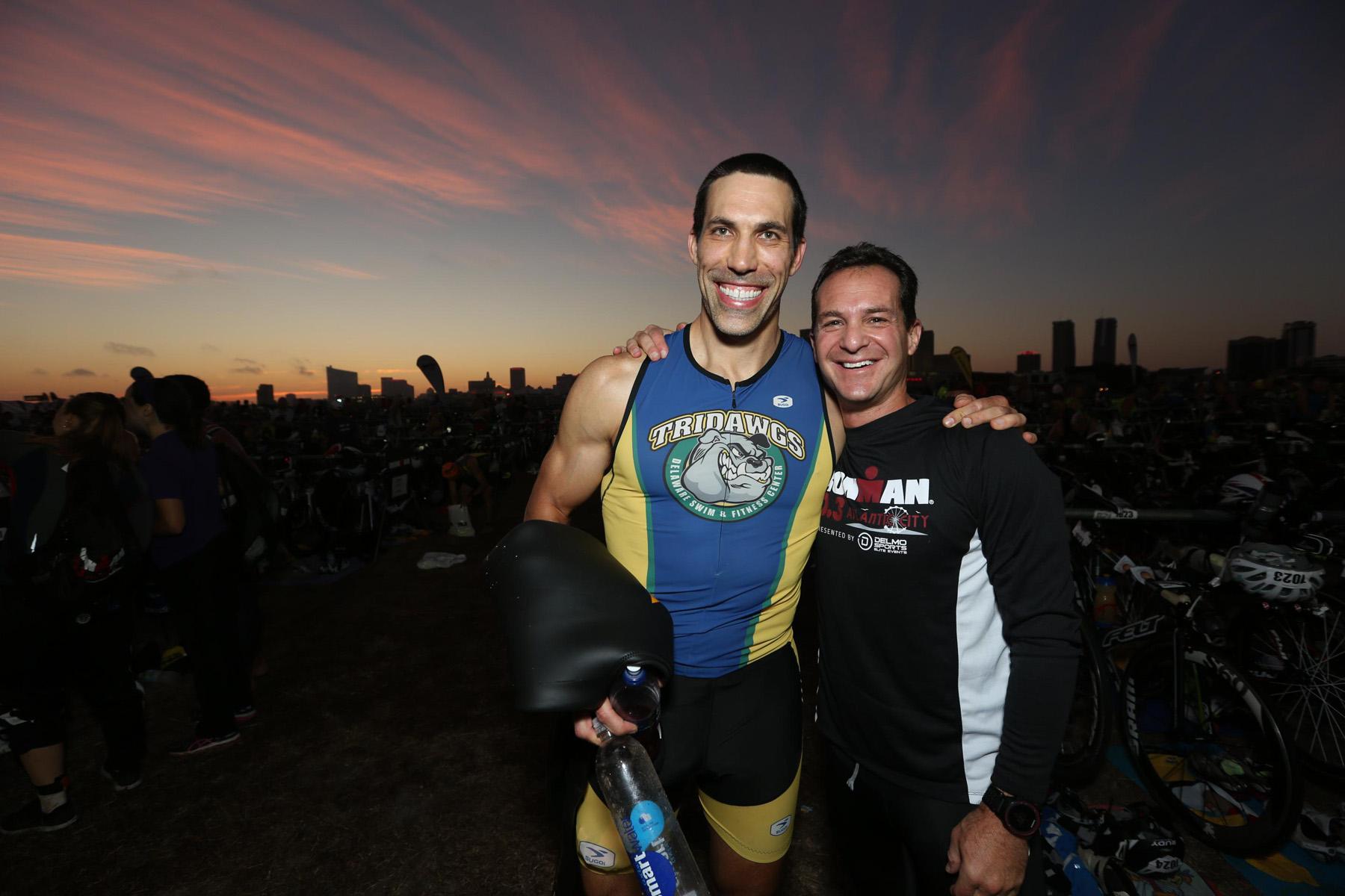 Sunrise glow - Ironman 70.3 Atlantic City