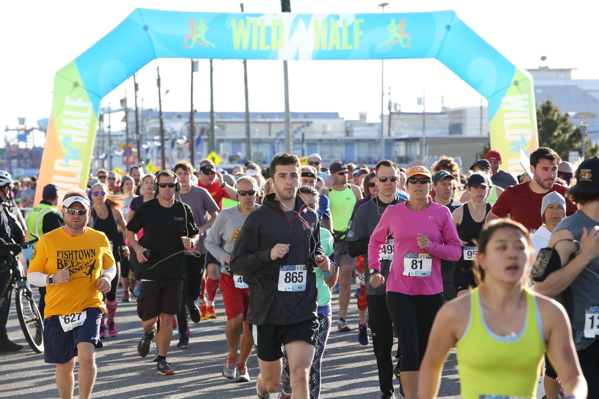 start run - Wild Half