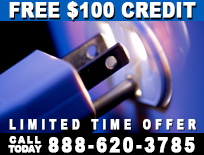 Free $100 Credit Limited Time Offer - 888-620-3785