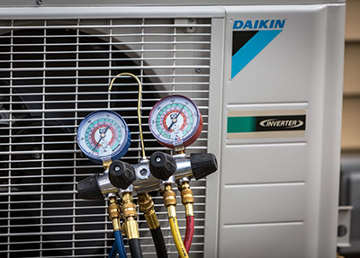 Daikin Heat Pump Setup