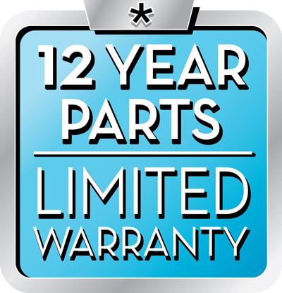 heat pump 10 year warranty