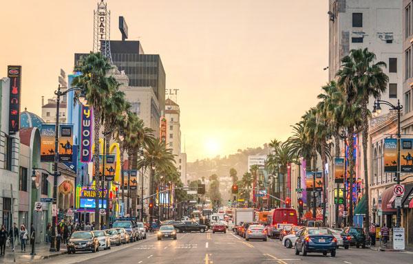 Dunes Inn Sunset Hollywood Blvd