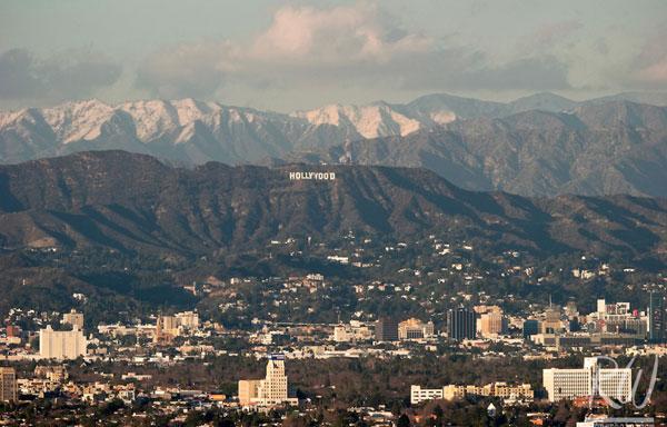 Dunes Inn Sunset Hollywood Mountain