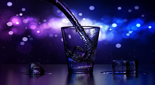empty just drunk shot glass