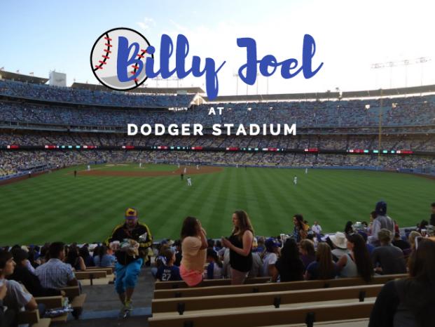 billy joel at dodger stadium