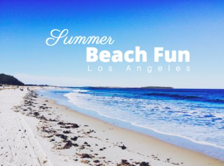 best beaches summer la