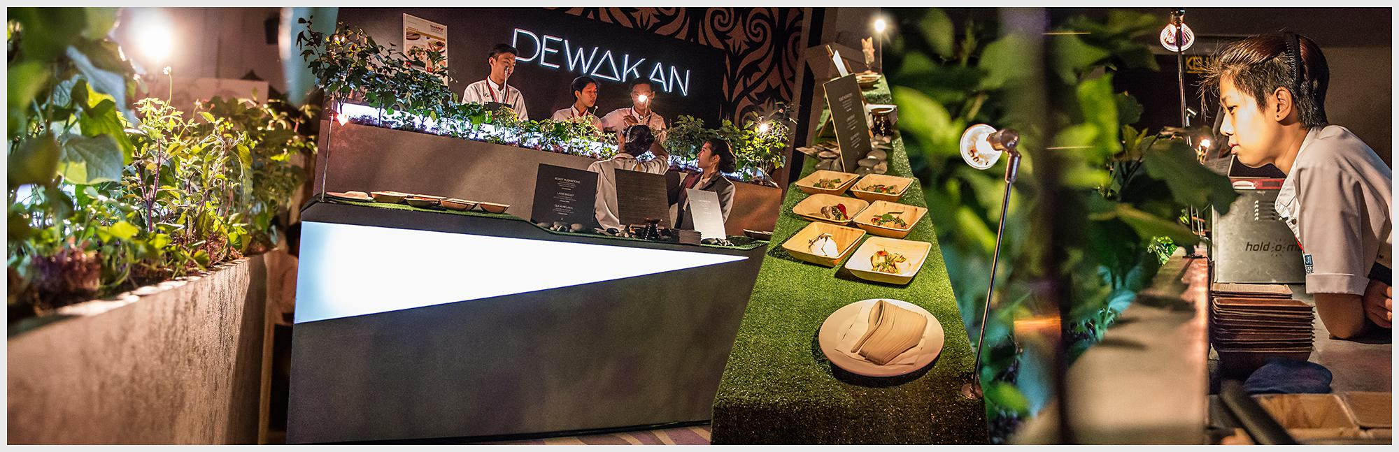 Booth Design for Dewakan at Taste MIGF (Malaysian International Gourmet Festival)