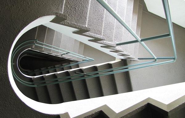 Dunes Inn Wilshire Stairs