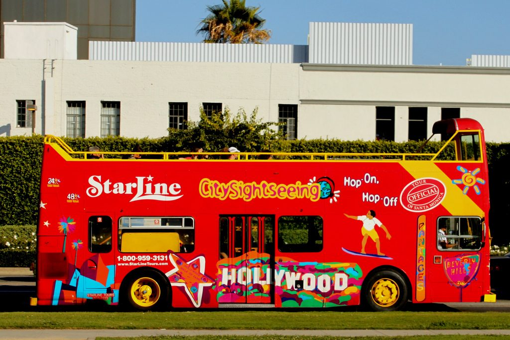starline tours sightseeing bus