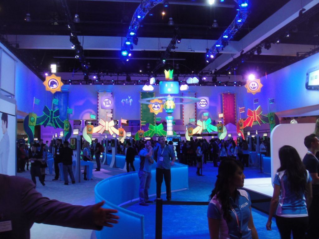 e3 expo exhibit