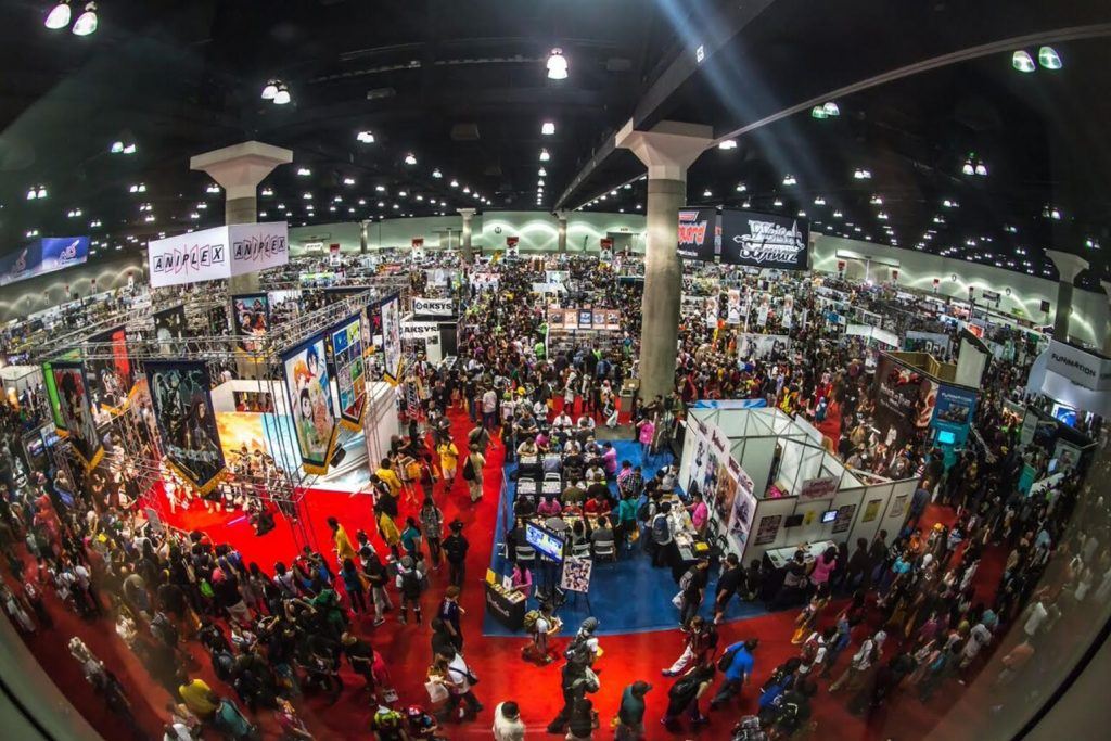 anime expo at the los angeles convention center