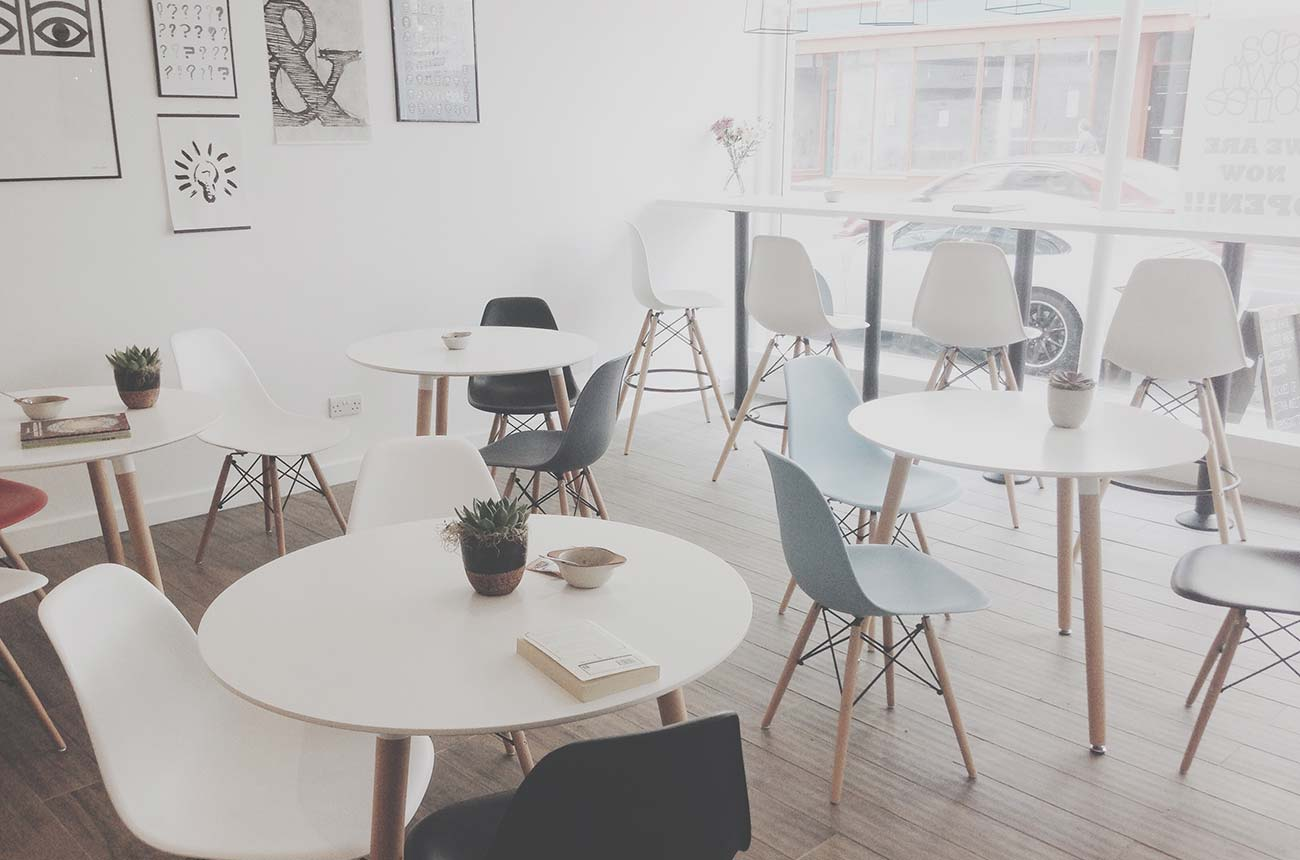 social meeting space