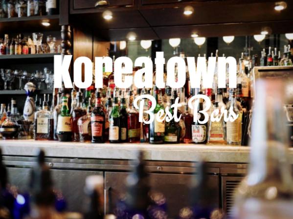 best bars in koreatown