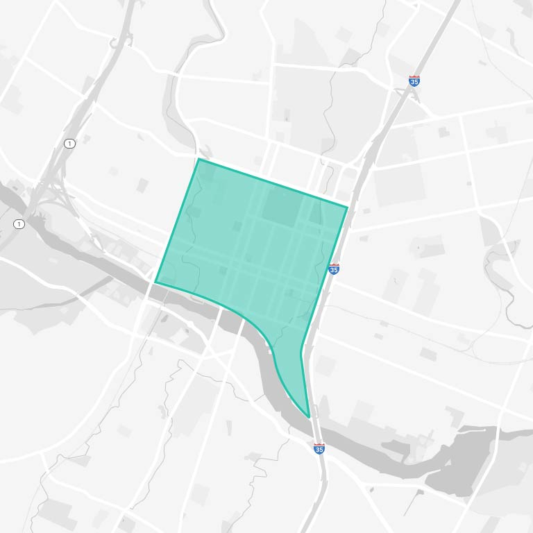 Downtown Austin Map