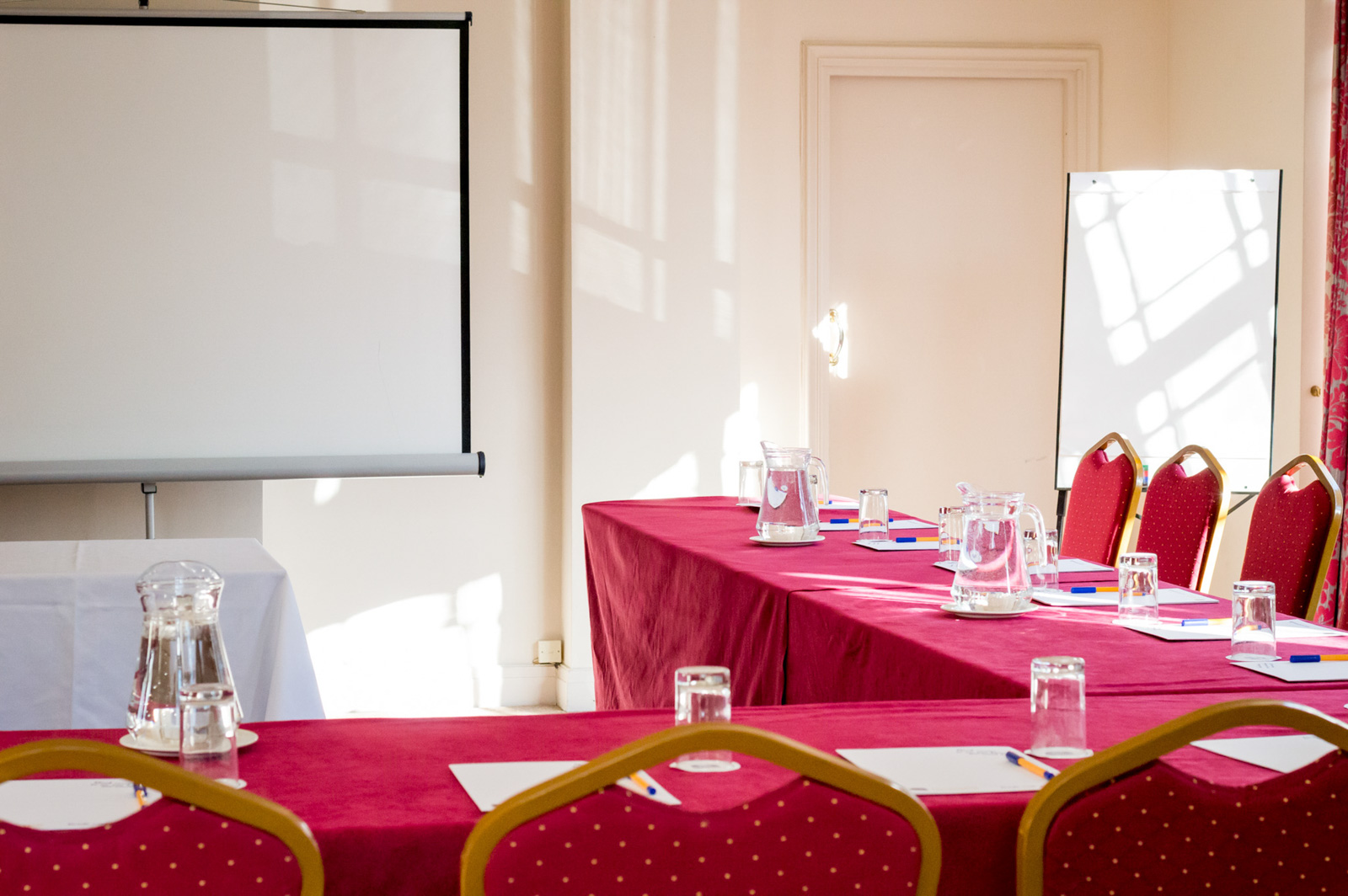 U-Shape Meeting setup at the Royale in Bournemouth