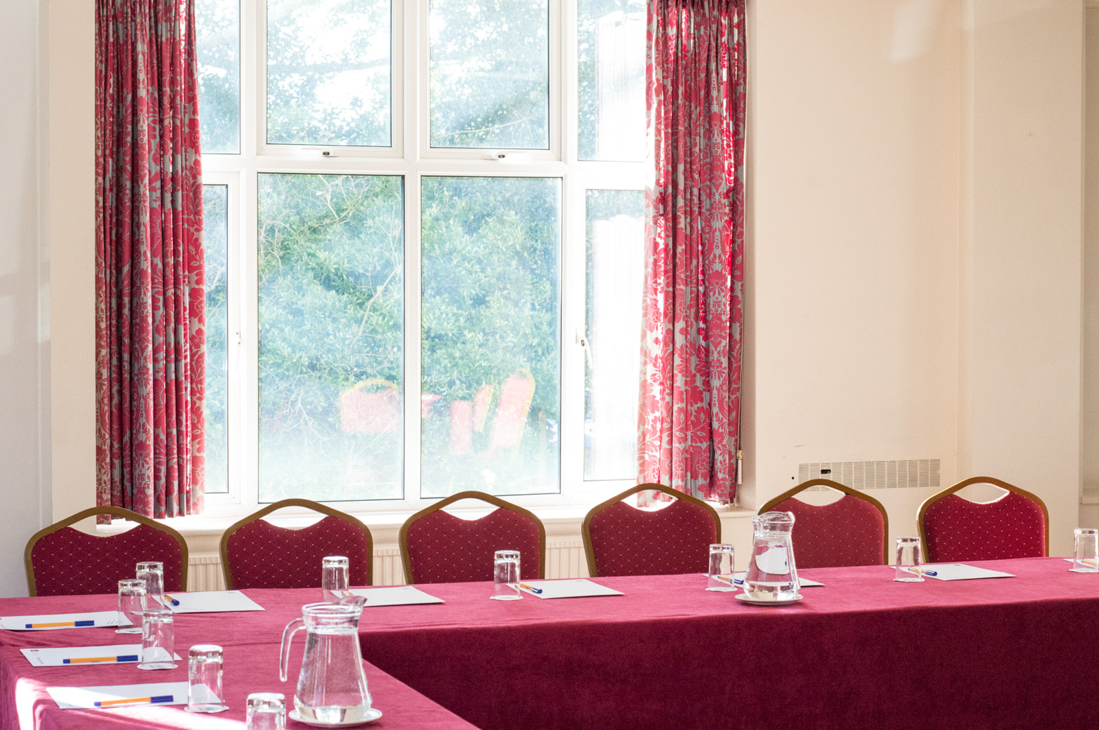 Spacious bright meeting room in Bournemouth at the Royale