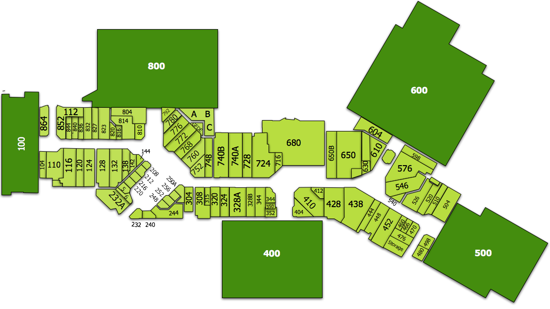 Virginia Center Commons Map