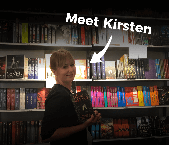 Kirsten provides a fantastic customer experience