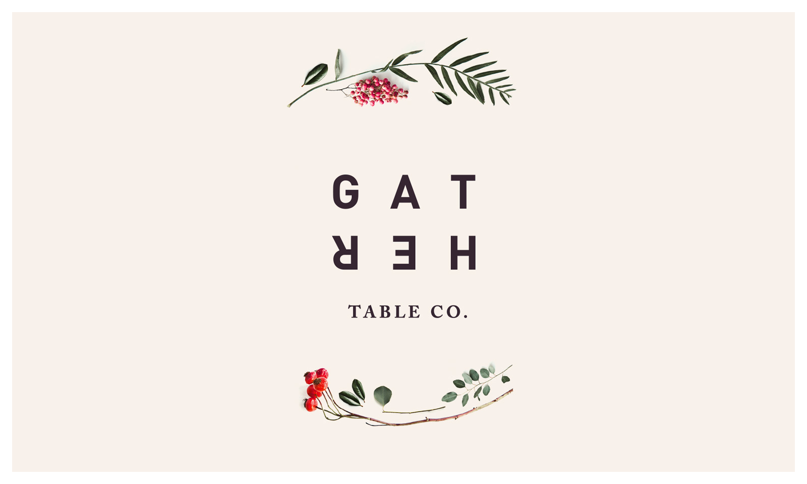 Gather Table Co. logo