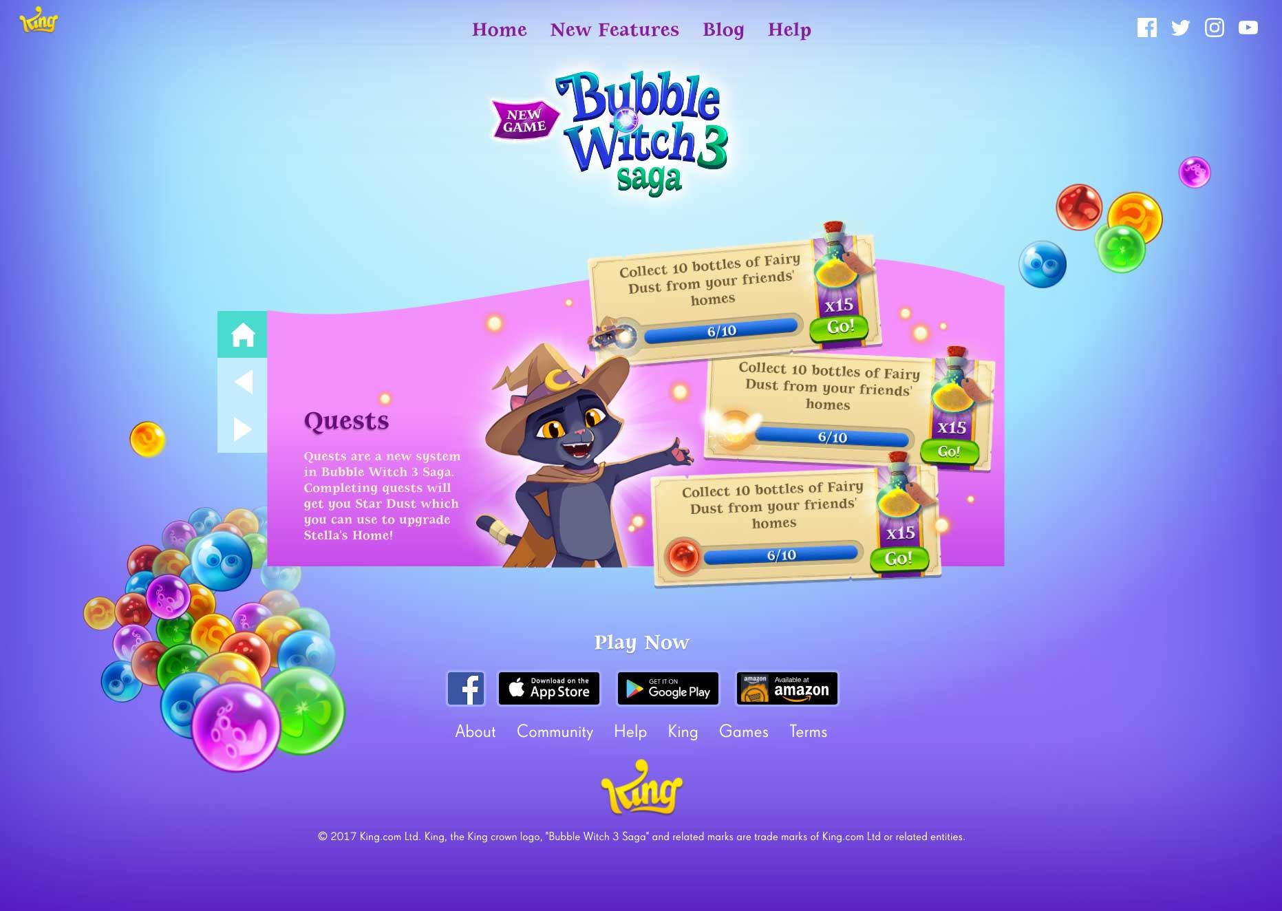 bubble witch 3 saga digital